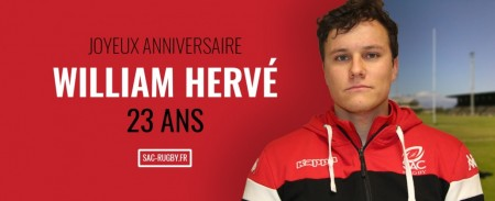 Bon anniversaire William HERVÉ